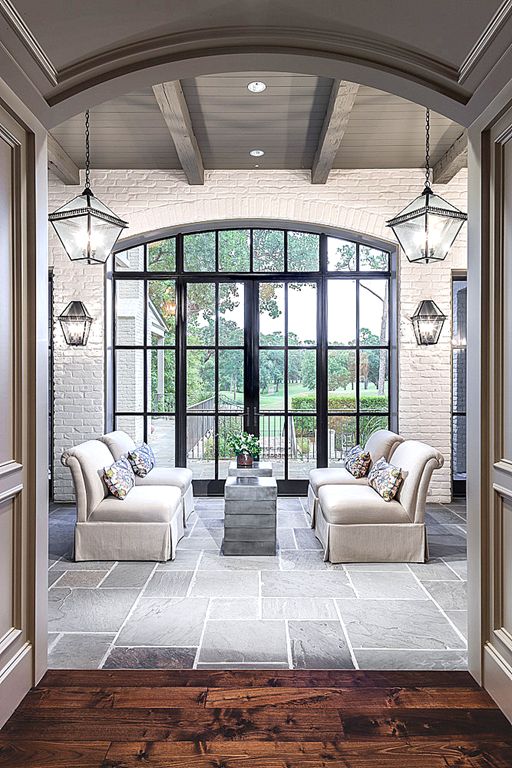 Outdoor Living Space: Stone Sunroom | Nashville, TN ... on Rock And Stone Outdoor Living id=25827